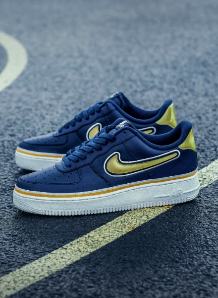 Zapatillas Nike Air Force 1 NBA de los Golden State Warriors